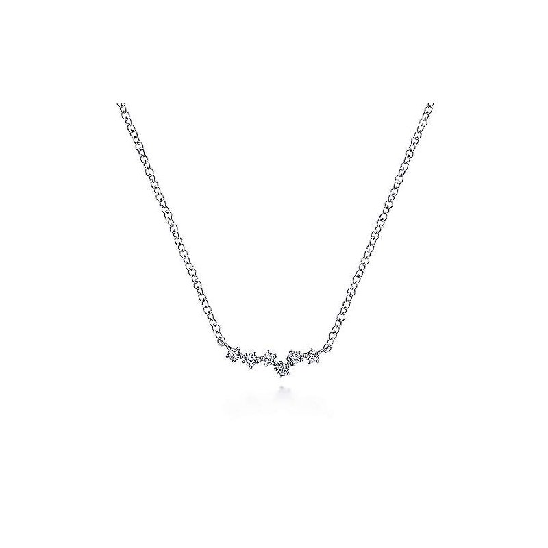 Gabriel & Co. -  IN-STORE COLLECTION Diamond Constellation Necklace