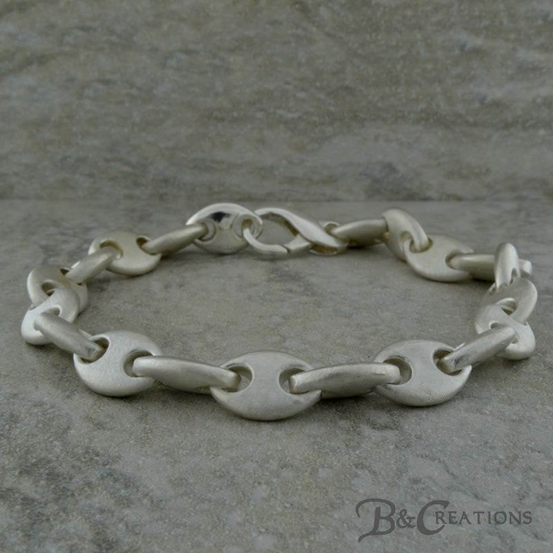 B&C Creations Anchor Link Bracelet