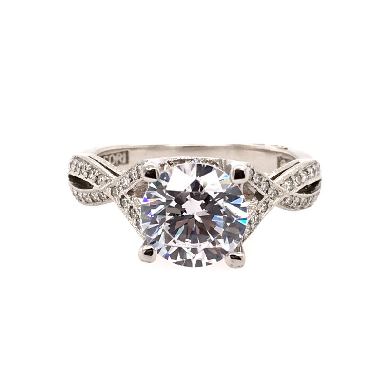 BRIAN'S VAULT Twisted Diamond Engagement Ring
