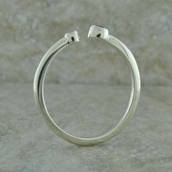 Bezel Set Mothers Ring