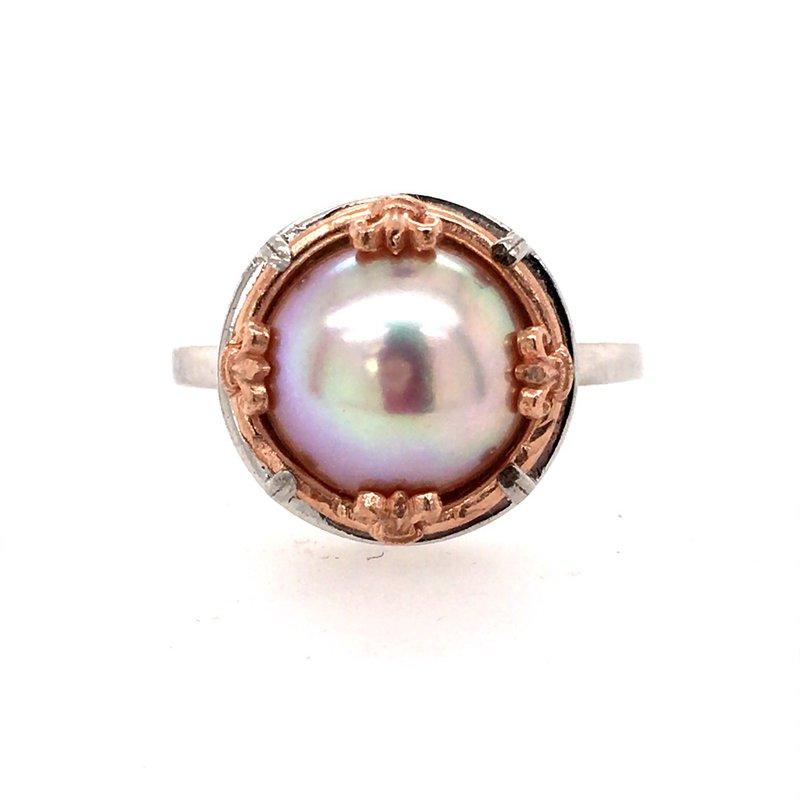 Anatoli Jewelry Pink Pearl Ring