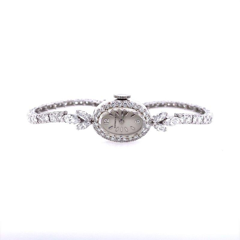 B&C Estate Collection Ladies Tiffany & Company / Movado Diamond Watch