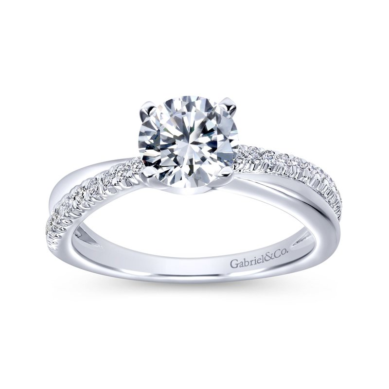 Gabriel & Co. -  IN-STORE COLLECTION Twist Style Engagement Ring