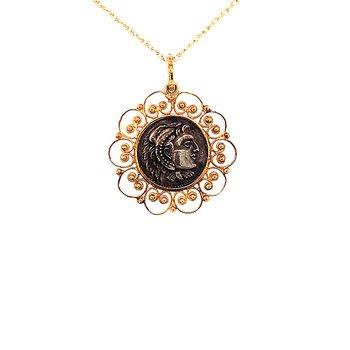 Alexander the Great Replica Coin Pendant