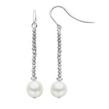 Brilliance Bead Pearl Earrings