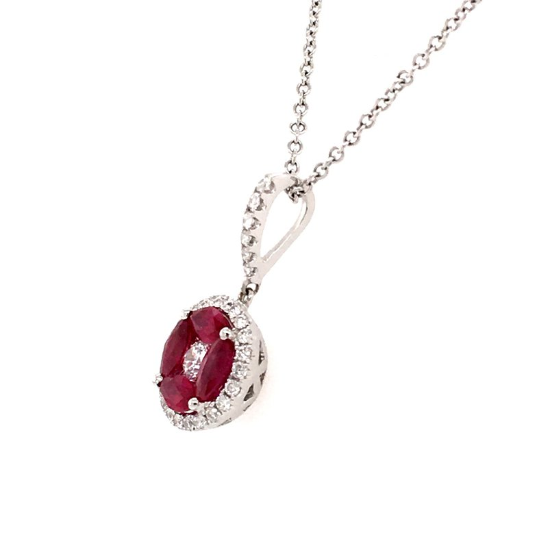 BRIAN'S VAULT Ruby and Diamond Pendant