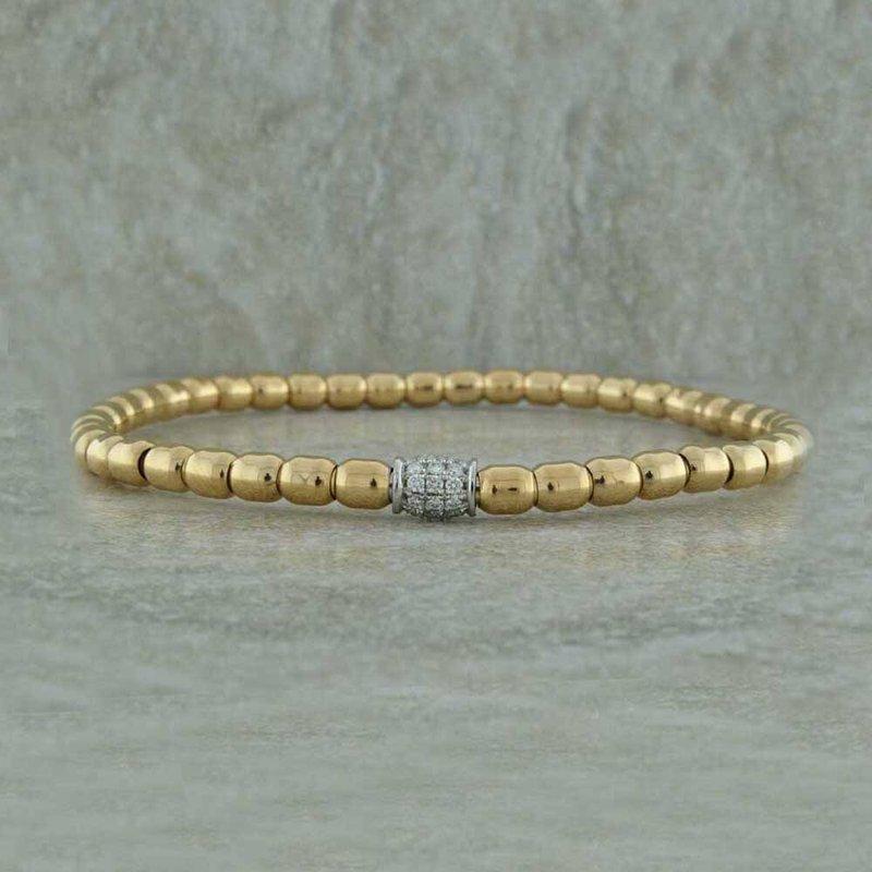 Hulchi Belluni Diamond Stretch Bracelet