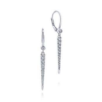 Diamond Icicle Earrings