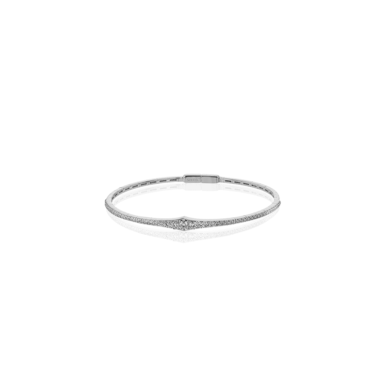 Simon G IN-STORE COLLECTION Tapered Diamond Bangle