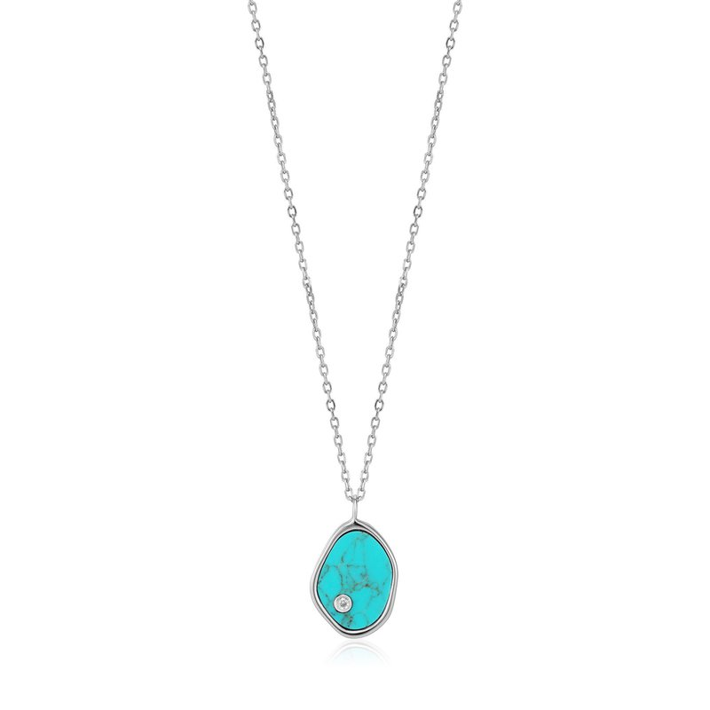 Ania Haie Tidal Turquoise Necklace