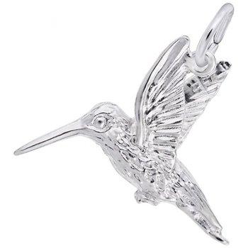 Sterling Silver Humming Bird Charm