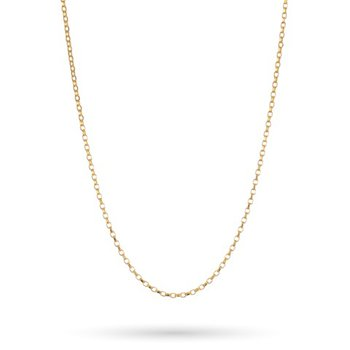 """Sterling Silver & Gold Plated 18"""" Bora Chain"""
