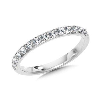 14KW Diamond Wedding Band w/ 0.34 ctw Size 7