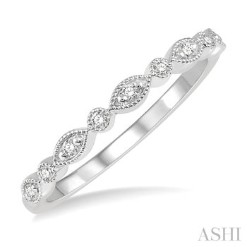 14KW Diamond Stackable Band, Size 7.25