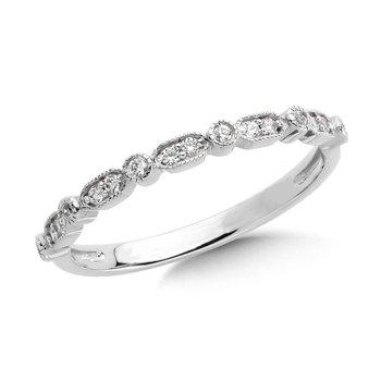 10KW Diamond Ring w/ 0.11 ctw, Size 7