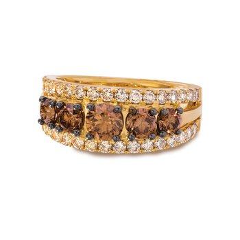 14KY Diamond Ring w/ 2.0 ctw, Size 7