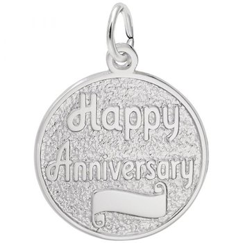 Sterling Silver Anniversary Charm