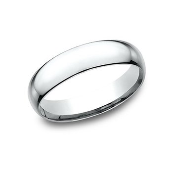 14KW 5 mm Superlight Comfort Fit Wedding Band, Size 10