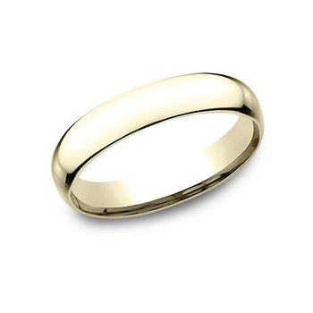 14KY 4 mm Superlight Comfort Fit Wedding Band, Size 11