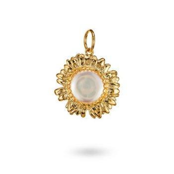 Golden Moon Daisy Charm