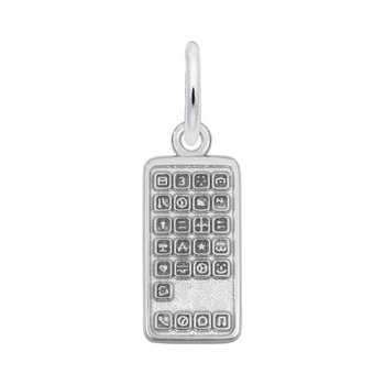 Sterling Silver Smartphone Charm