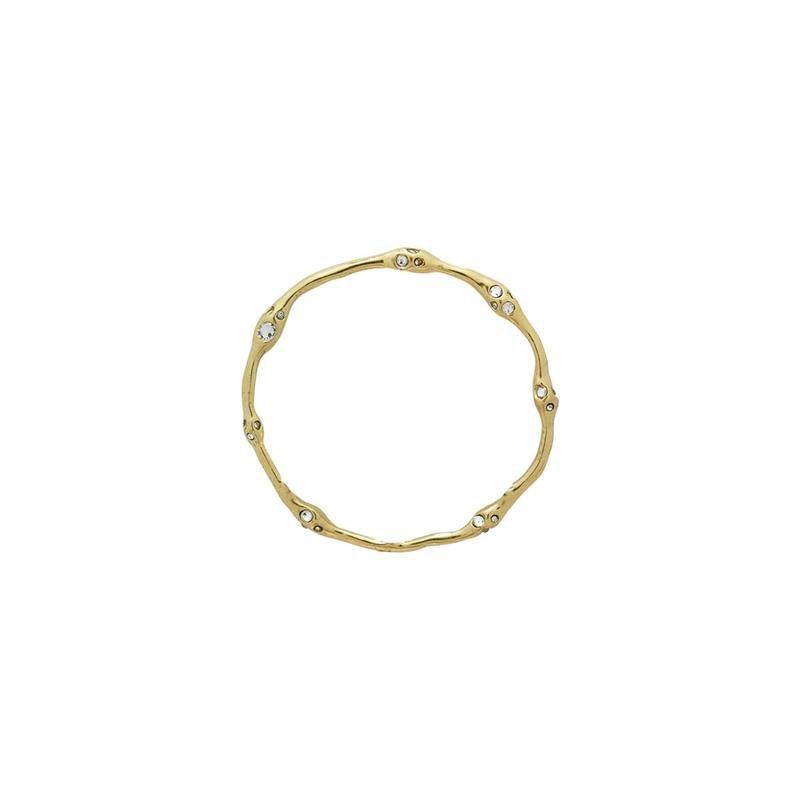 Waxing Poetic Brass Ursa Circle Pendant