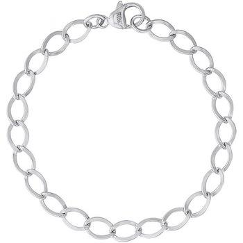 Dapped Curb Link Classic Bracelet