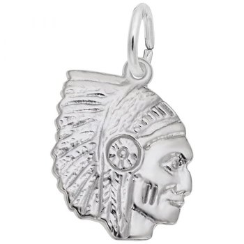 Sterling Silver Native American Charm