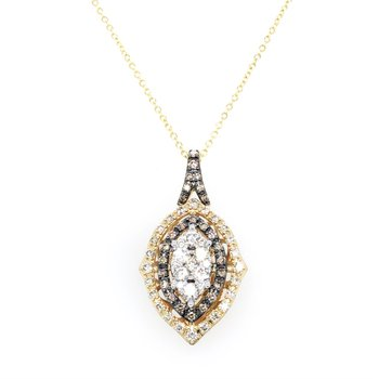 14KY Diamond Fashion Pendant w/ 0.84 ctw