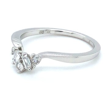 14KW Engagement Ring w/ 0.20 ctw, Size 6.75