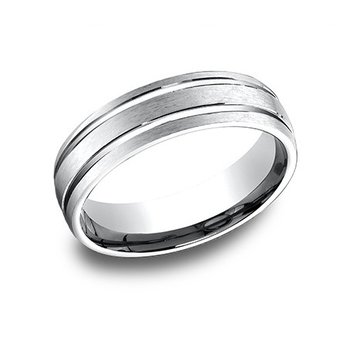 14KW Light Comfort Fit 6.5 mm Satin Cut Band, Size 9