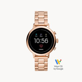 Stainless Steel Rose Tone Generation 4 Smart Watch