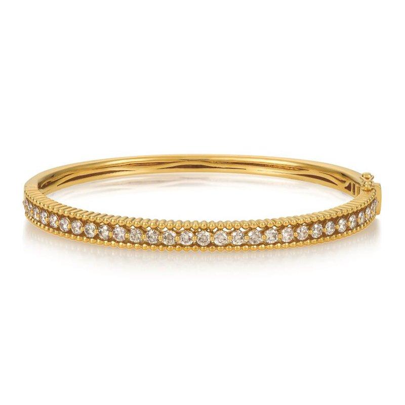 Le Vian In Stock 14KY Nude Diamond Bangle w/ 1.81 ctw