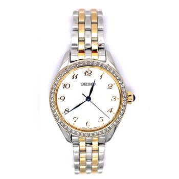 Stainless Steel Ladies Two Tone Watch