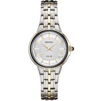 Stainless Steel Two Tone Solar Watch