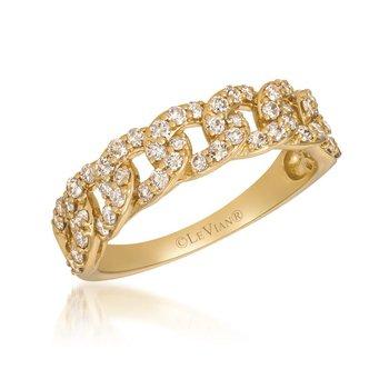 14KY Nude Diamond Ring w/ 0.65 ctw, Size 7