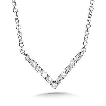 10KW Diamond Pendant w/ 0.10 ctw