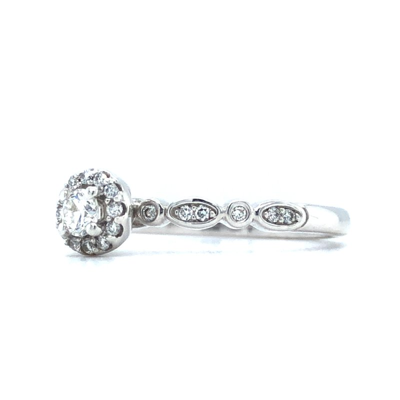Green Brothers Collection 14KW Diamond Engagement Ring w/ 0.25 ctw