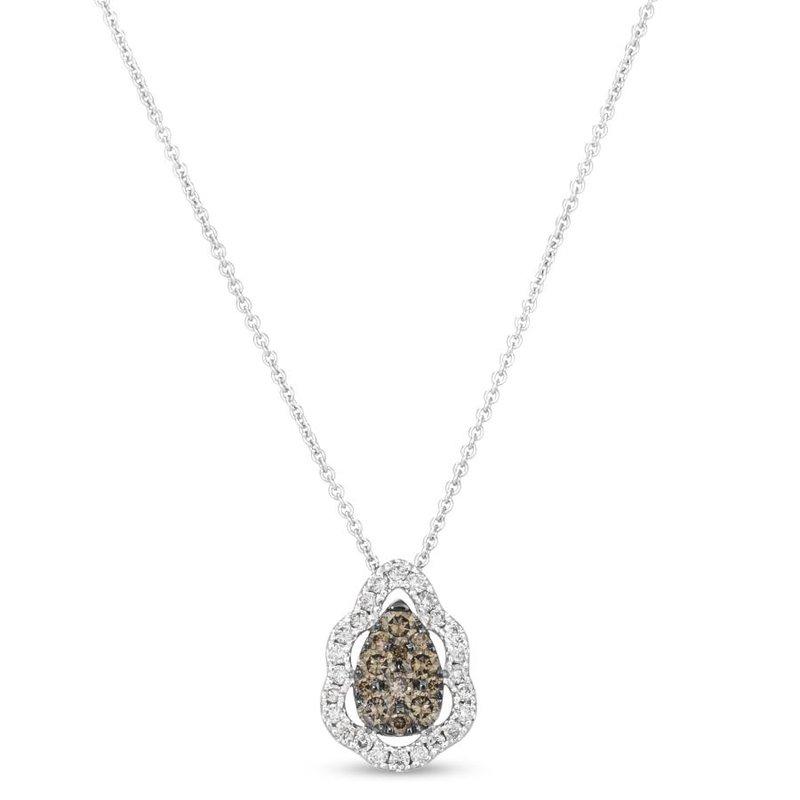 """Le Vian In Stock 14KW Diamond Fashion Pendant w/ 0.51 ctw, 18"""" Chain"""