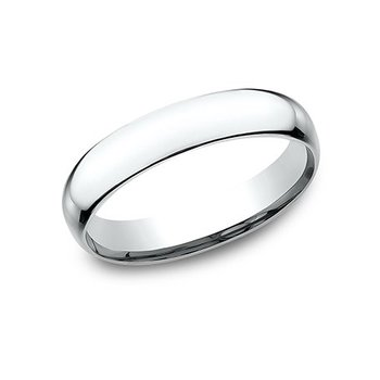 14KW 4 mm Superlight Comfort Fit Wedding Band, Size 10