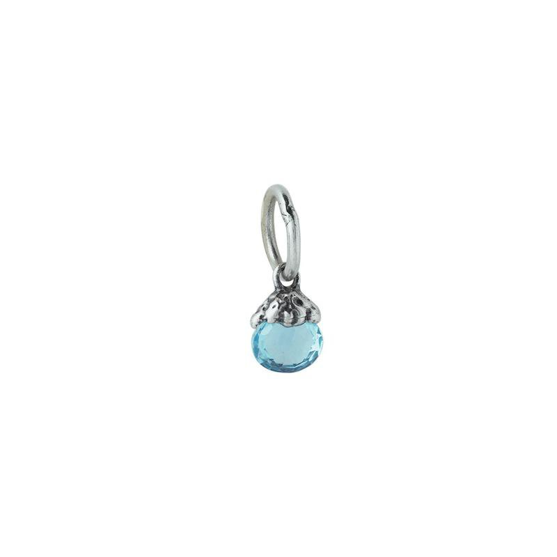 Waxing Poetic Sterling Silver March Birthstone