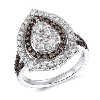 14KW Diamond Fashion Ring w/ 1.15 ctw, Size 7