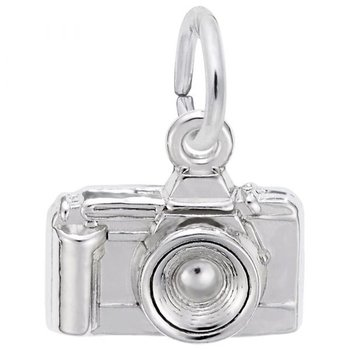 Sterling Silver Camera Charm