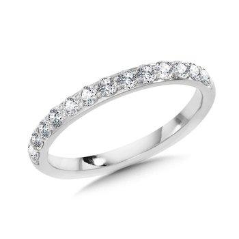14KW Diamond Band w/ .50 ctw, GH, VS2 - SI1