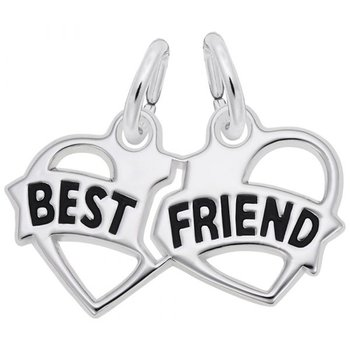 Sterling Silver Best Friends Charms