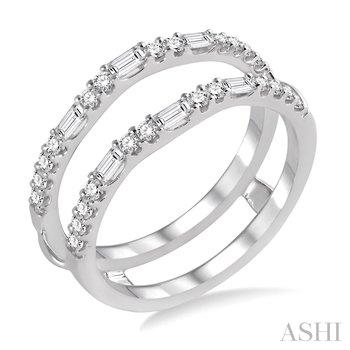 14KW Diamond Ring Enhancer w/ 0.55 ctw, Size 6.75