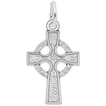 Sterling Silver Celtic Cross Charm