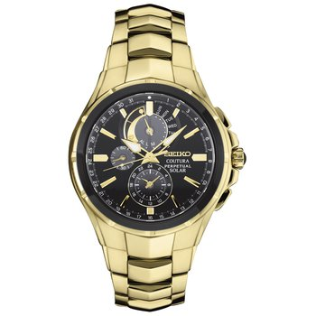 Stainless Steel Men's Watch Gold