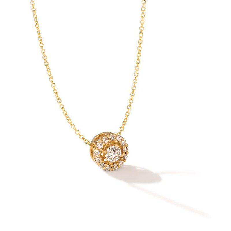 "Le Vian In Stock 14KY Diamond Pendant w/ 0.52 ctw, 18"" Chain"