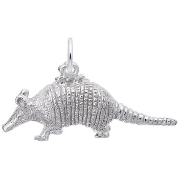 Sterling Silver Armadillo Charm